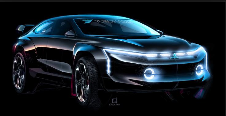 2021 Mitsubishi Galant exterior