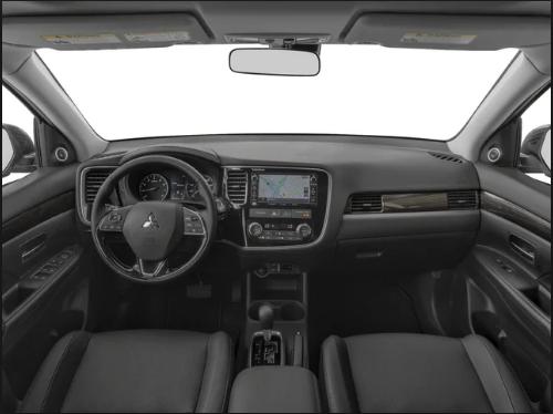 Mitsubishi Outlander 2020 interior