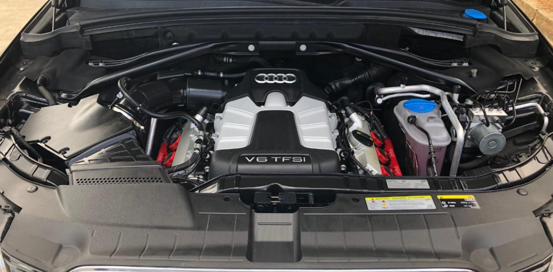 2020 Audi SQ5 Engine