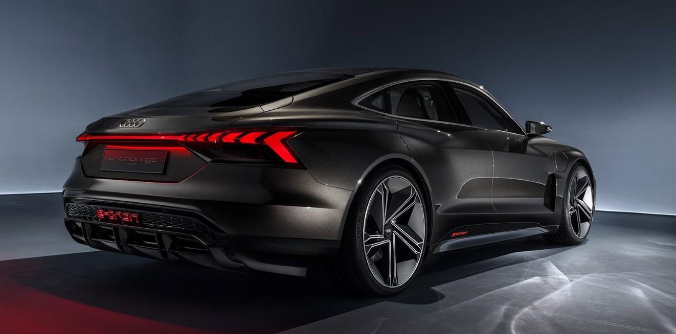 2021 Audi E Tron GT Engine