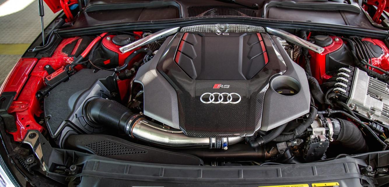 2021 Audi RS5 Engine