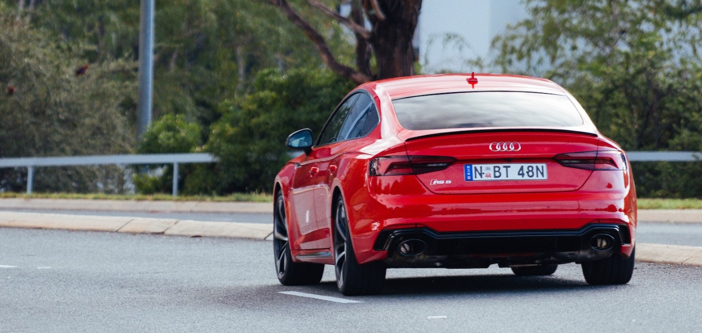2021 Audi RS5 Sportback Engine