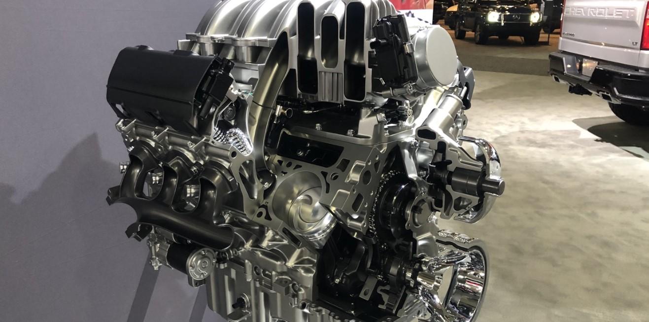 2021 Chevrolet Silverado HD Engine