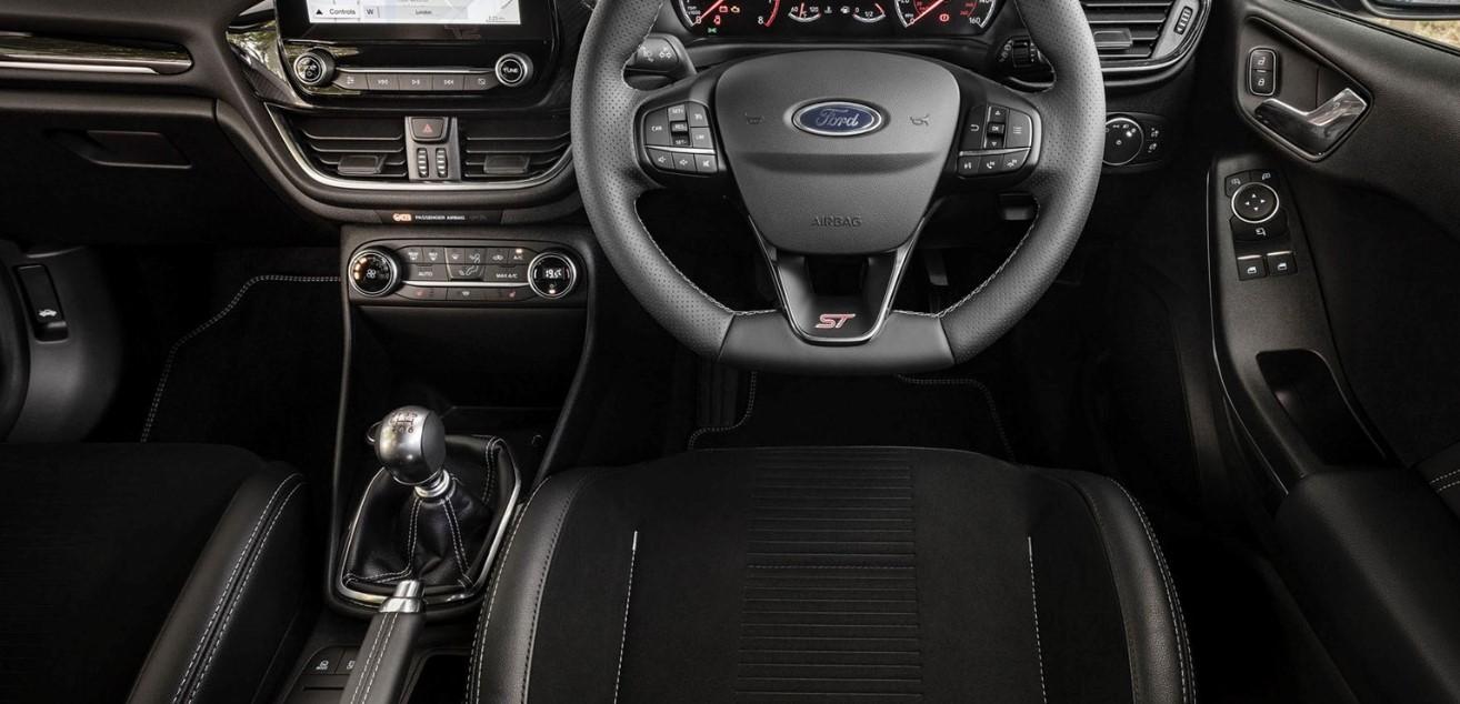 2021 Ford Escape ST Interior