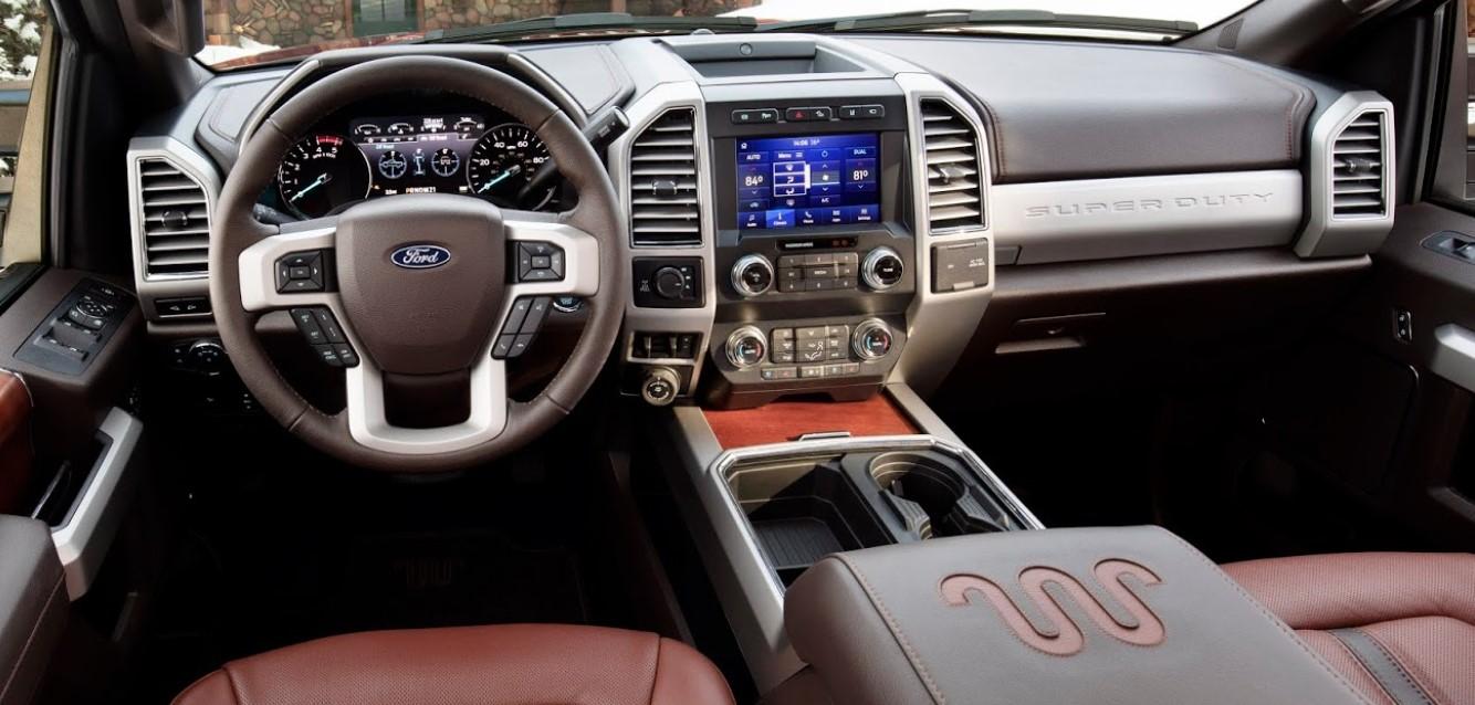 2021 Ford F250 Interior