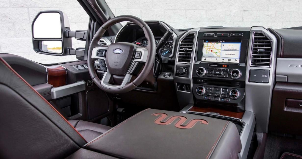 2021 Ford F650 Interior