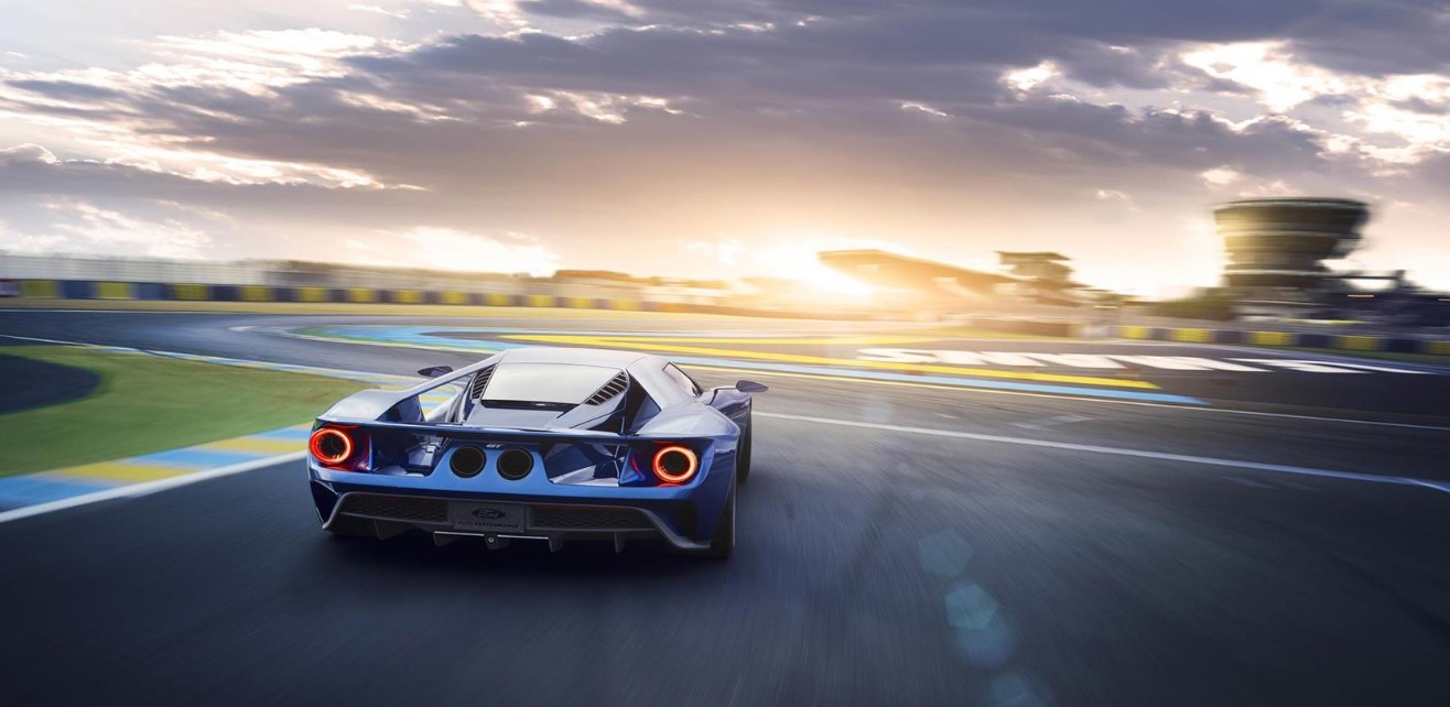 2021 Ford GT Engine