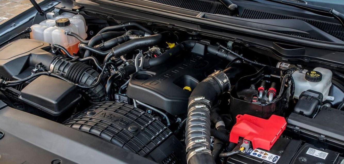 2021 Ford Ranger Raptor Engine