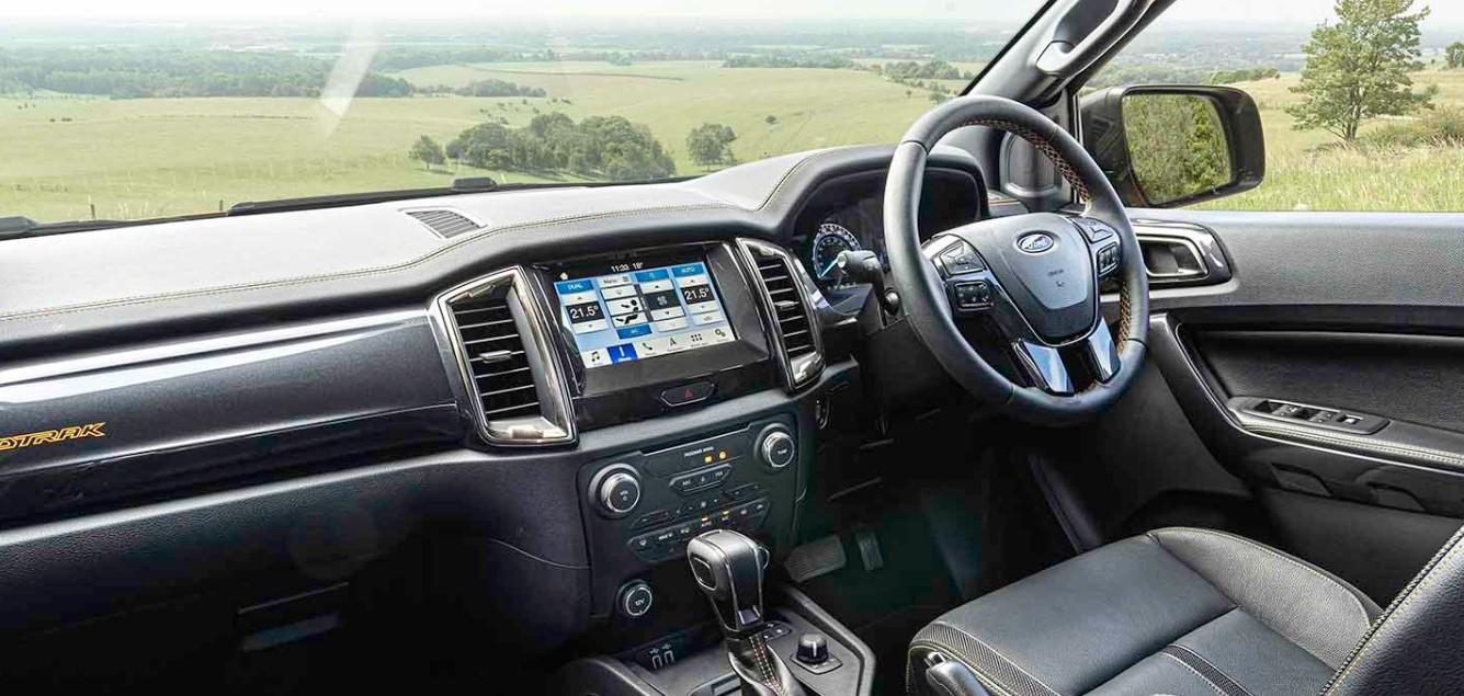 2021 Ford Ranger Raptor Interior