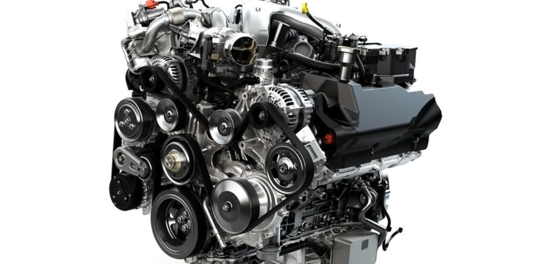 2021 Ford Super Duty Engine