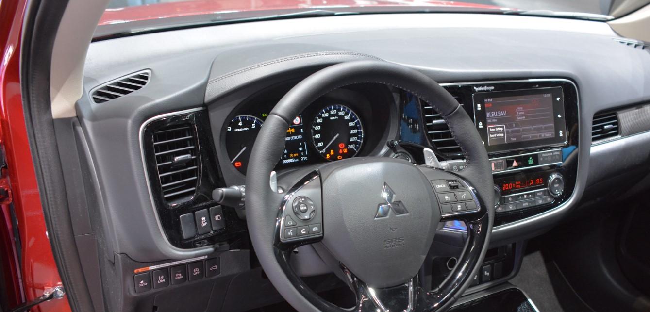 2021 Mitsubishi Outlander Interior