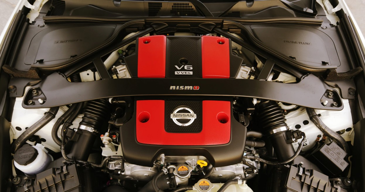 2021 Nissan 370Z Nismo Engine