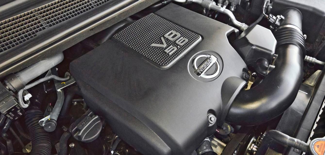 2021 Nissan Armada Engine