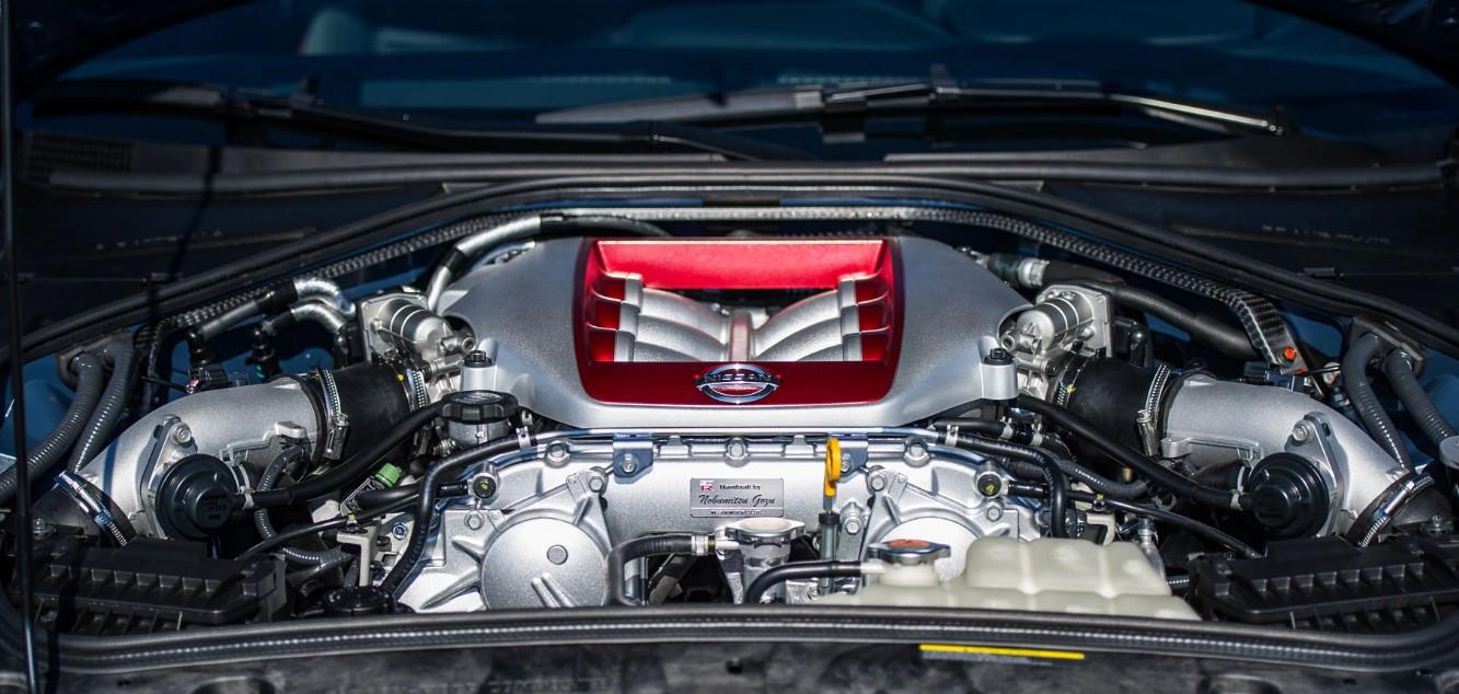 2021 Nissan GTR Engine
