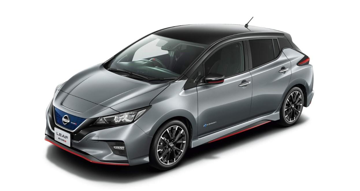 2021 Nissan Leaf Exterior