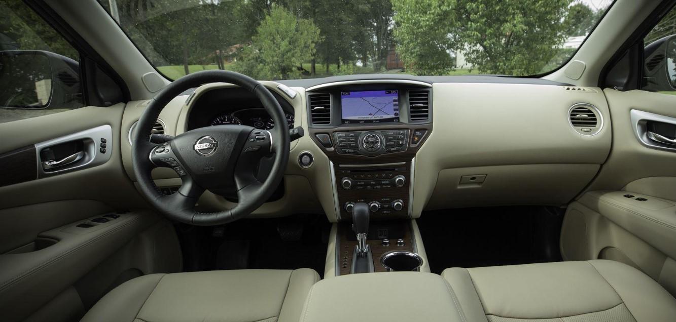 2021 Nissan Pathfinder Interior
