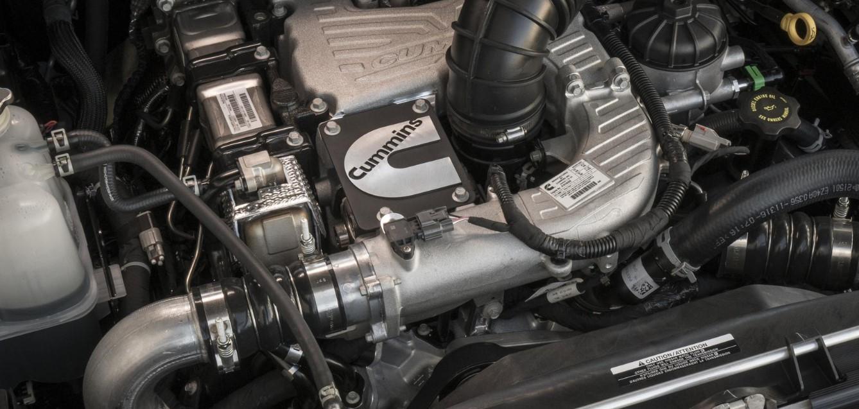 2021 Nissan Titan Engine