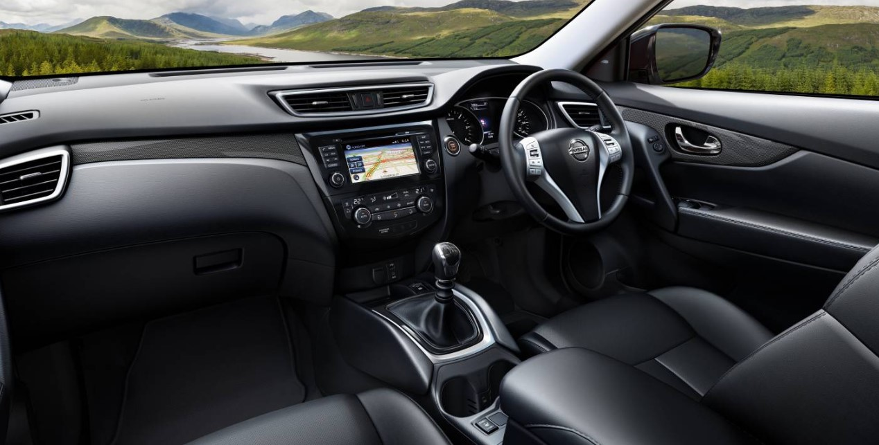 2021 Nissan X Trail Interior