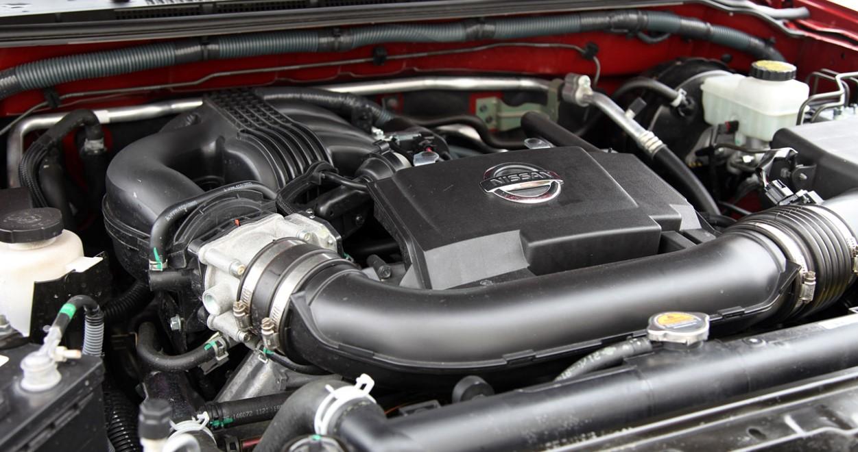2021 Nissan Xterra Engine