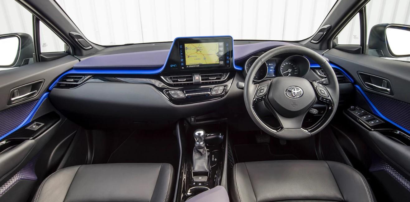2021 Toyota CHR Interior