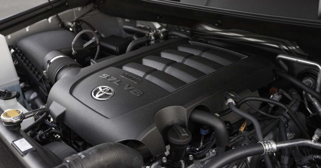 2021 Toyota Sequoia Engine