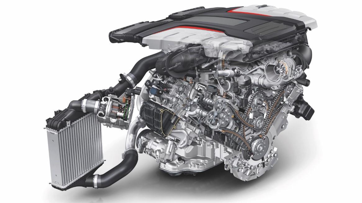 Audi SQ7 2021 Engine