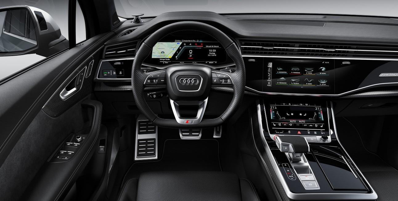 Audi SQ7 2021 Interior