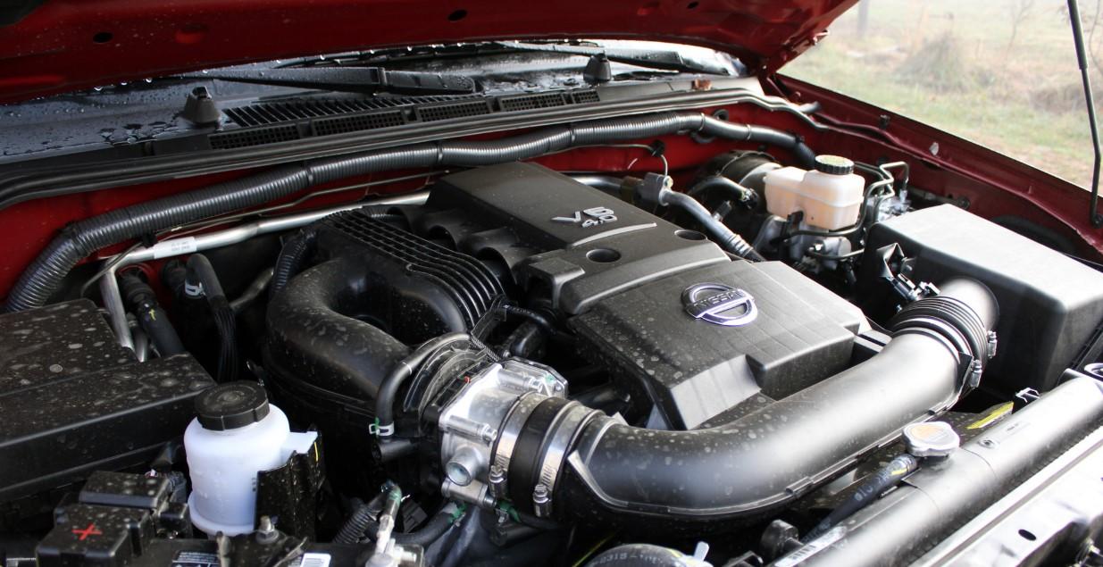 Nissan Frontier 2021 Engine