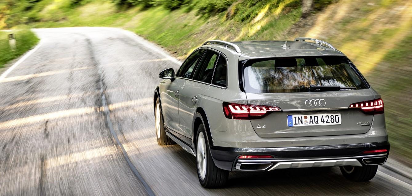 2020 Audi A4 Allroad Engine