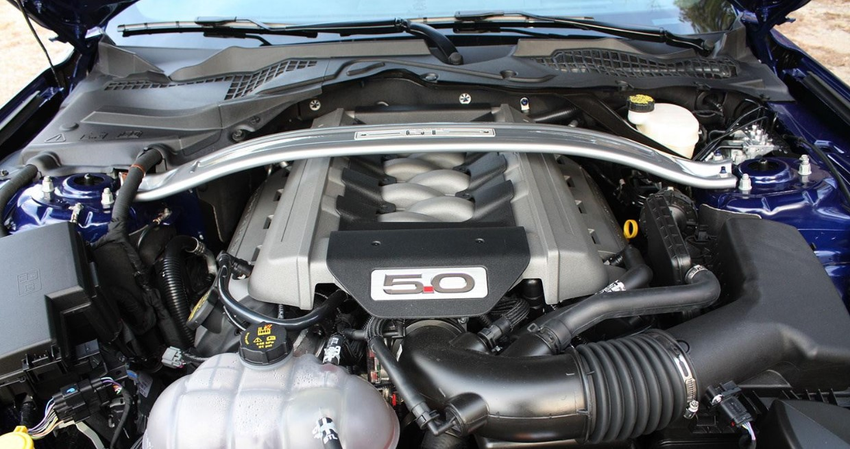 2020 Ford Mustang GT Engine