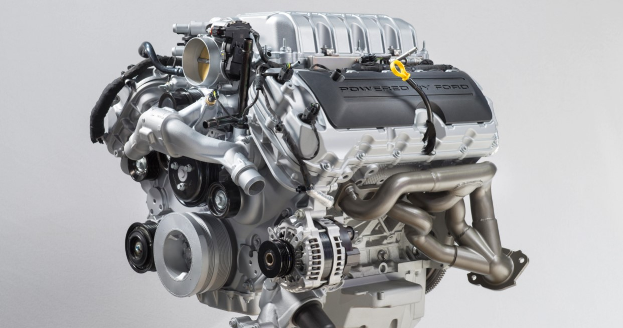 2020 Ford Mustang Shelby GT500 Engine