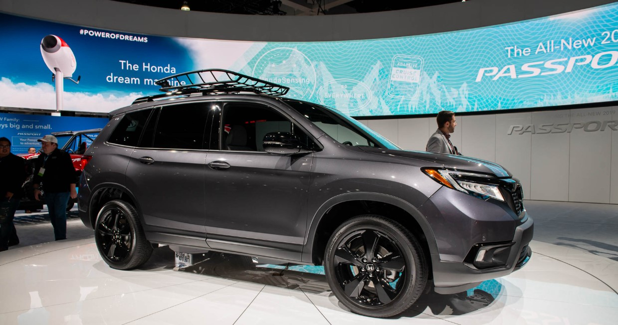 2020 Honda Passport Exterior