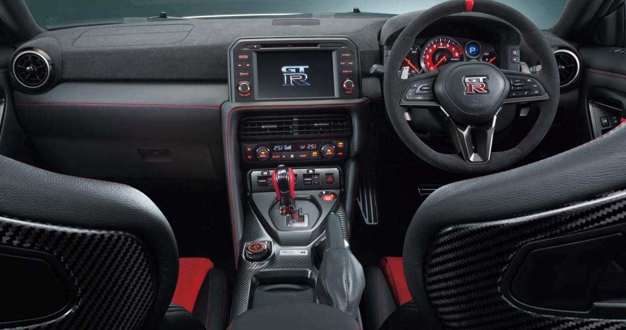 2020 Nissan GTR Nismo Interior