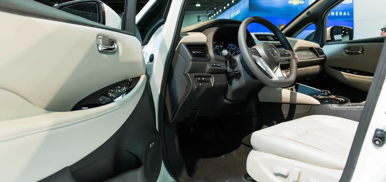 2020 Nissan Leaf Interior