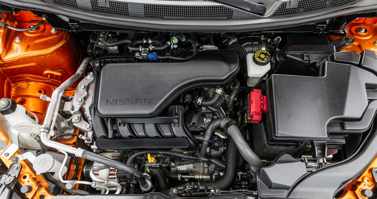 2020 Nissan Rogue Engine