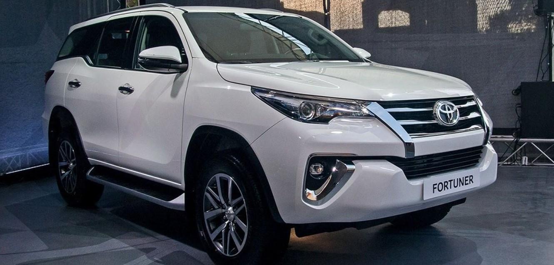2020 Toyota Fortuner Exterior