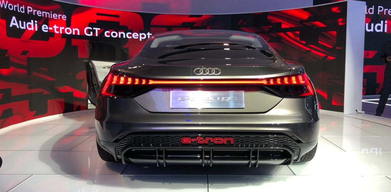 2021 Audi E-Tron Engine