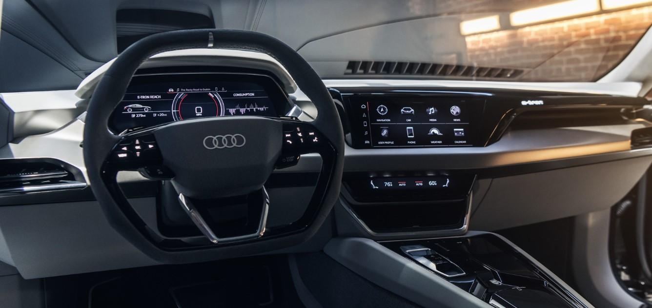 2021 Audi E-Tron Interior