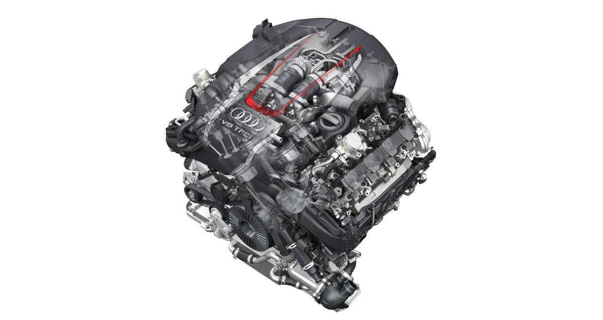 2021 Audi S8 Engine