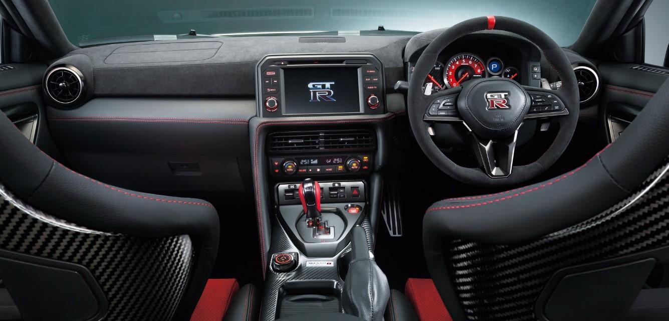 2021 Nissan GTR Interior