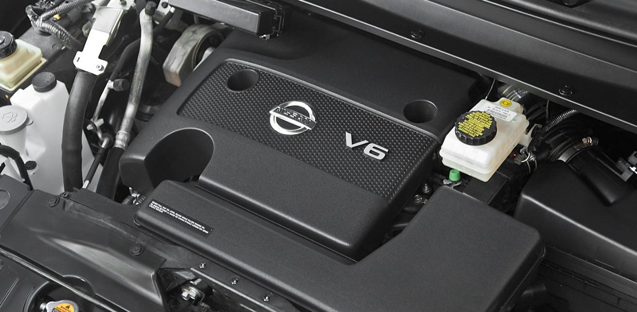 2021 Nissan Pathfinder Engine