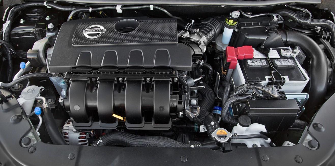 2021 Nissan Sentra Engine