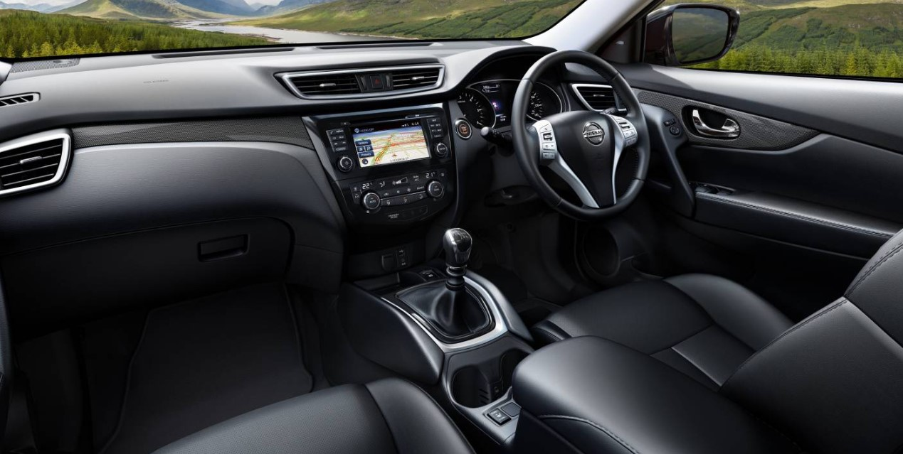 2021 Nissan X Trail Interior