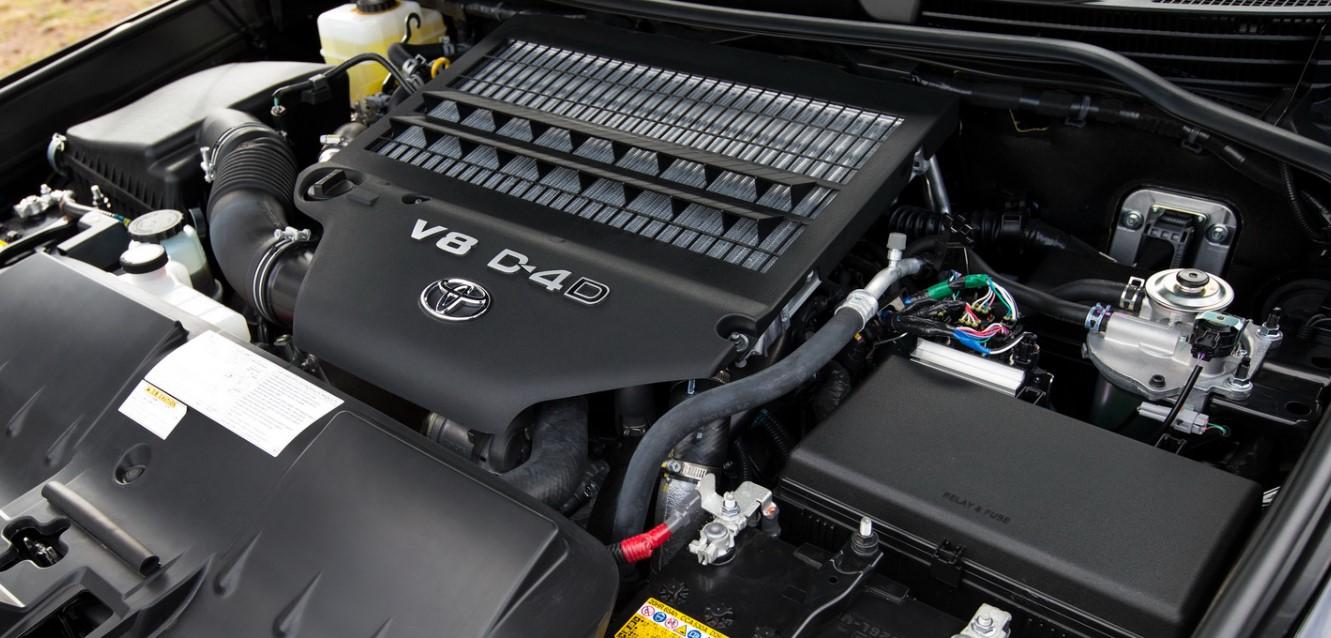 2021 Toyota Land Cruiser 300 Engine