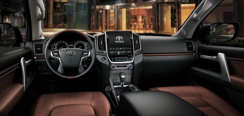 2021 Toyota Land Cruiser 300 Interior