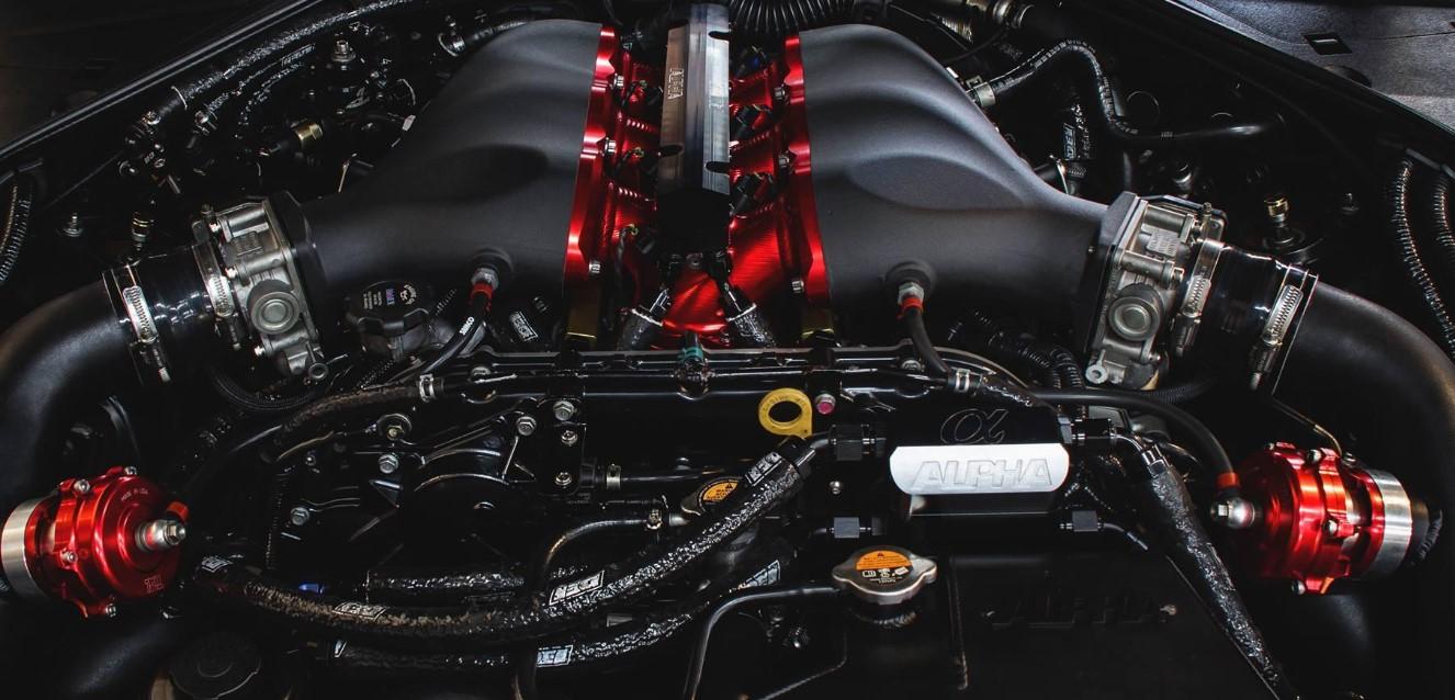 Nissan GTR 2020 Engine
