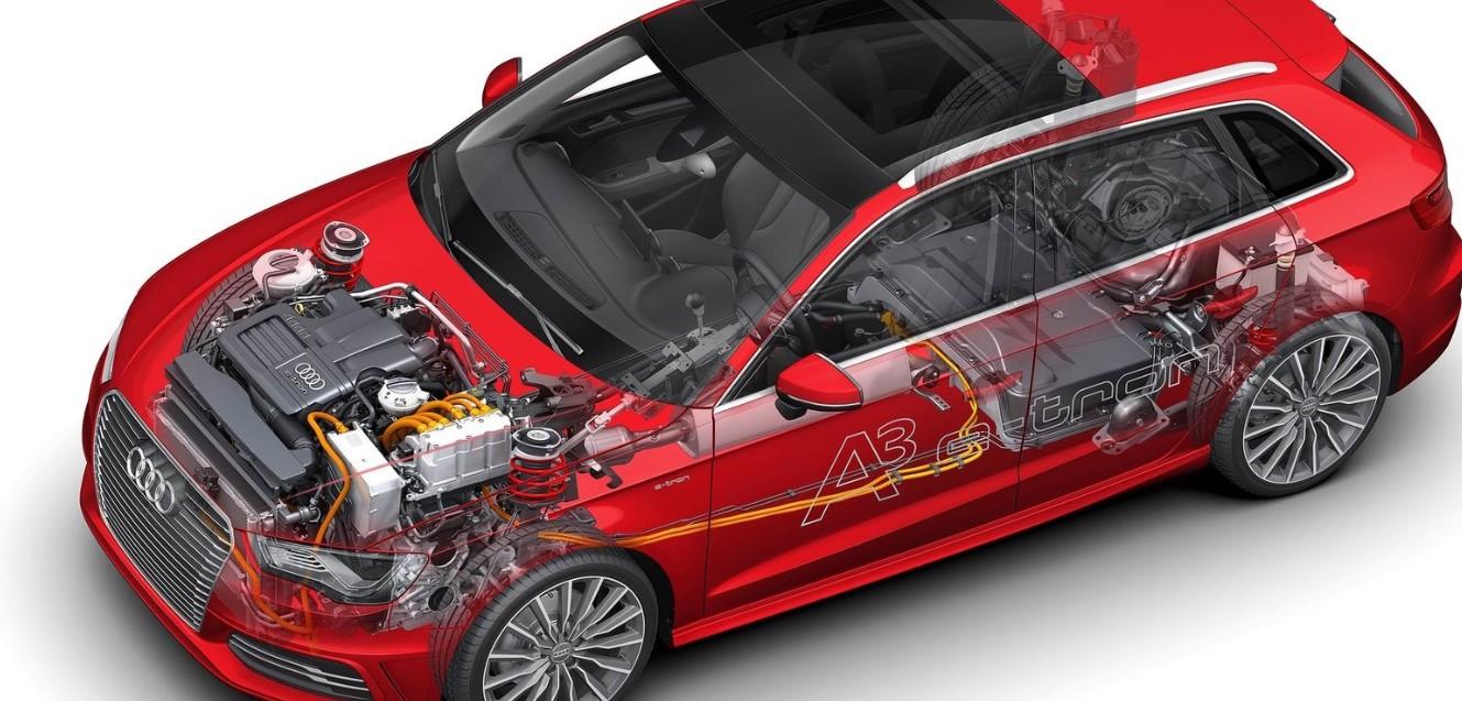2020 Audi A3 E Tron Engine