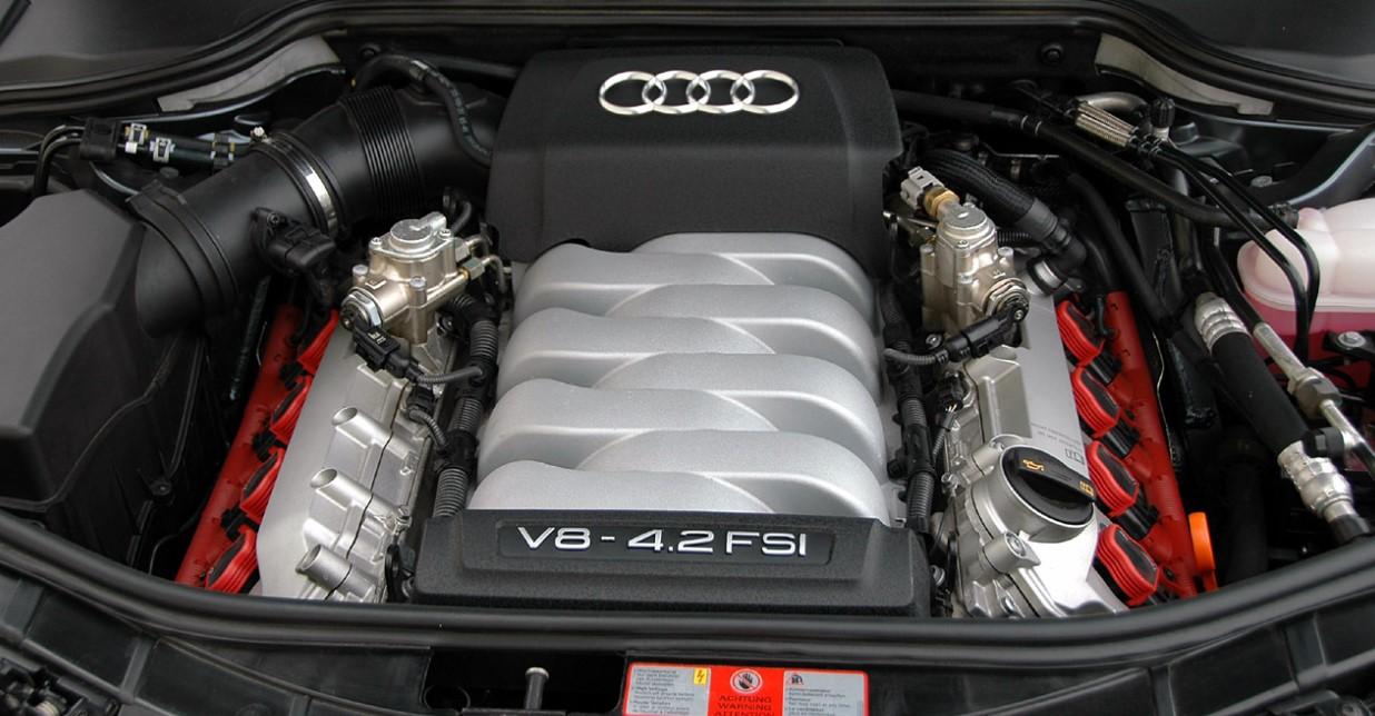 2020 Audi A8L Engine