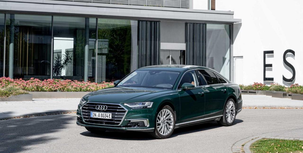 2020 Audi A8L Exterior