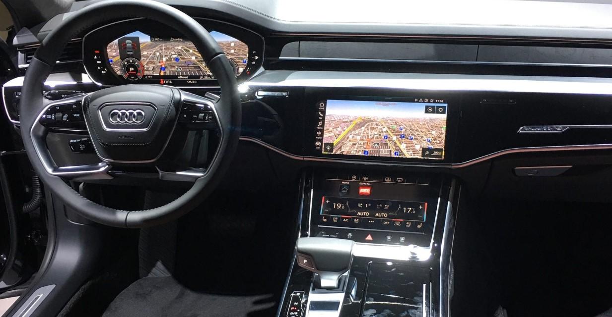 2020 Audi A8L Interior